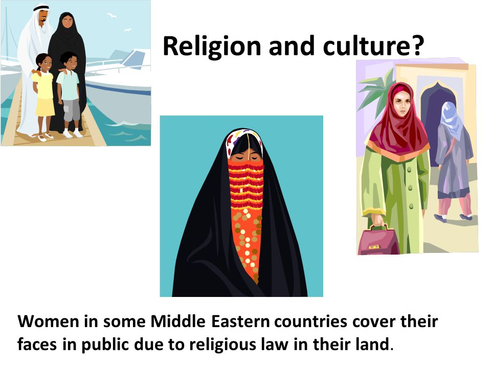 Religion and culture.