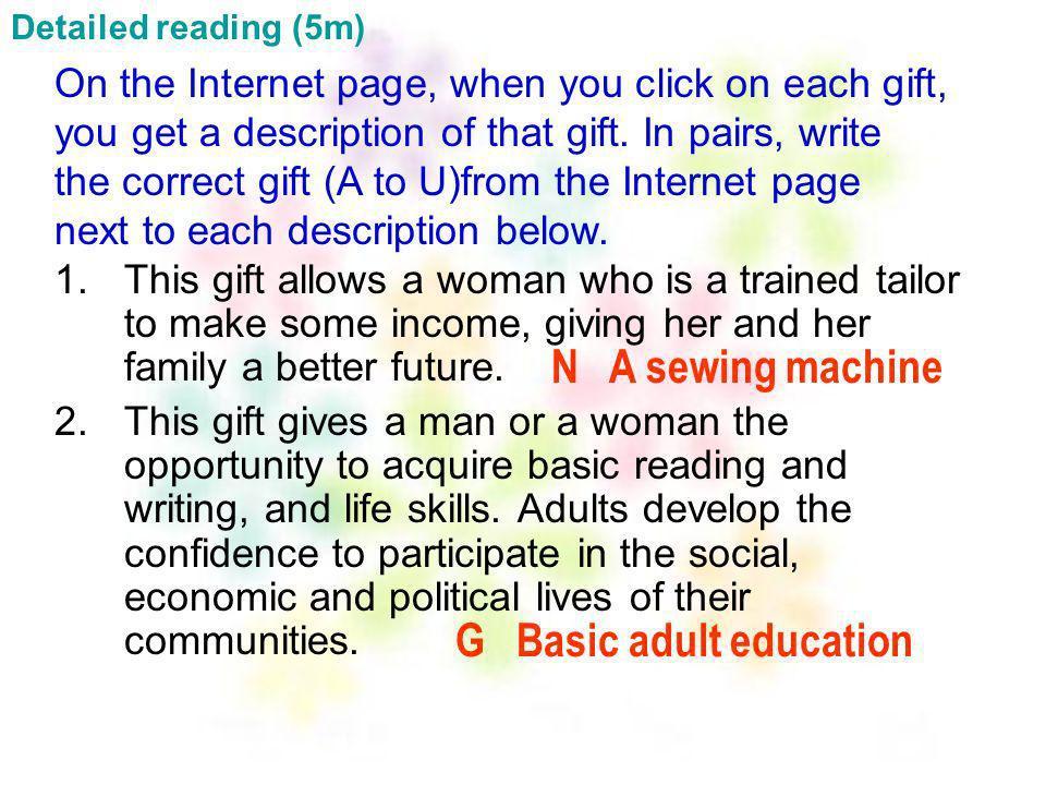 G Basic adult education