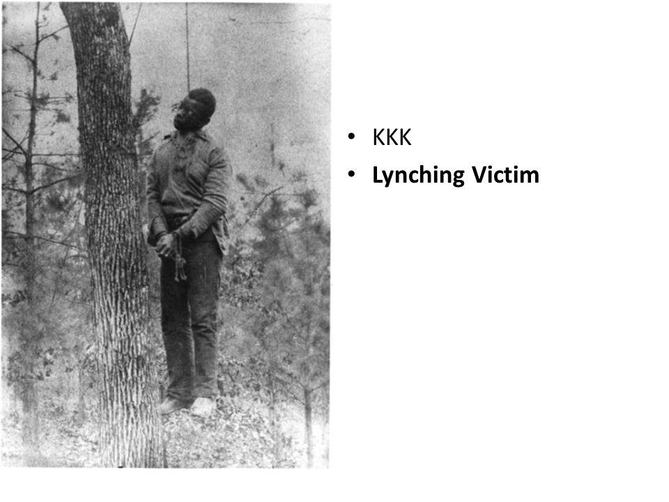 KKK Lynching Victim