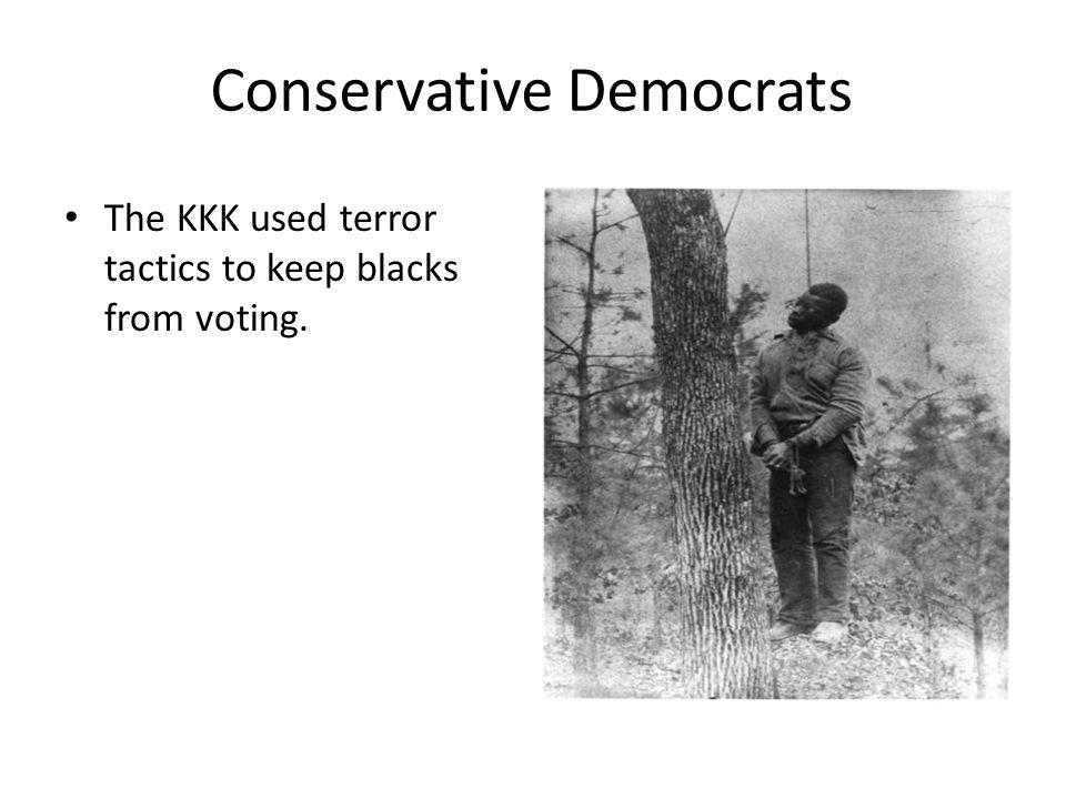 Conservative Democrats