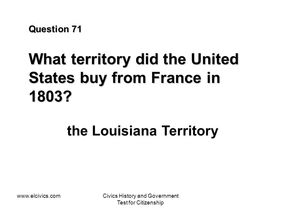 the Louisiana Territory
