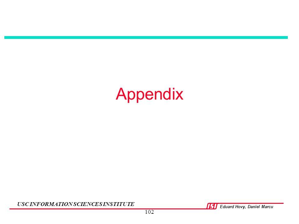 Appendix 102