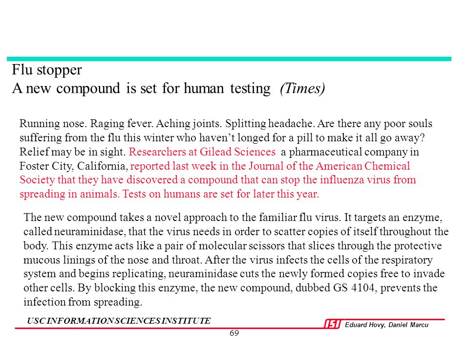 A new compound is set for human testing (Times)