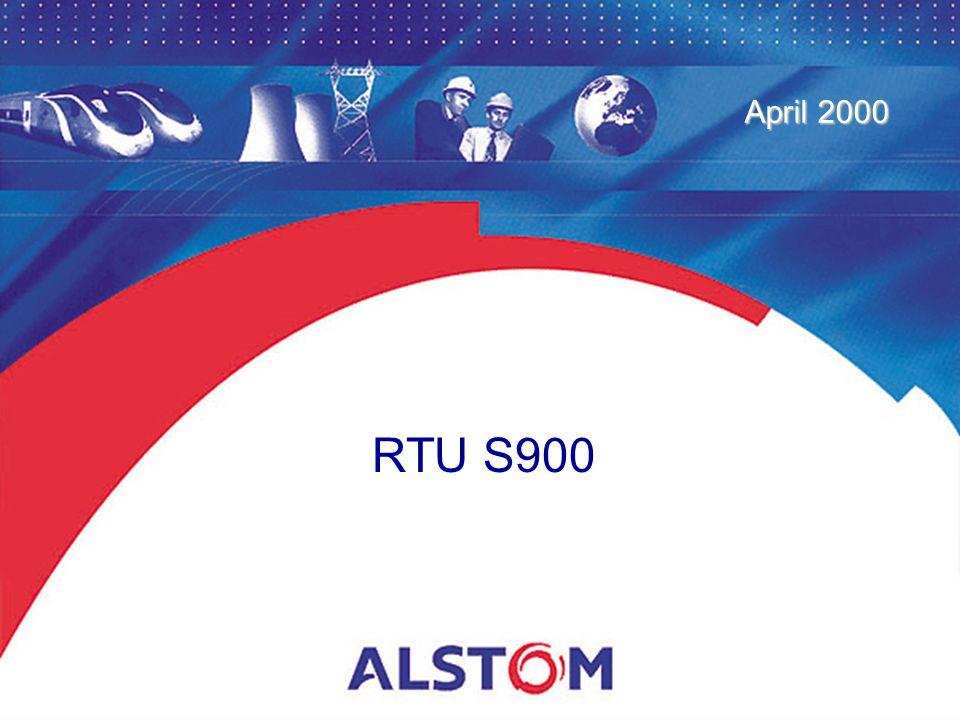 April 2000 RTU S900