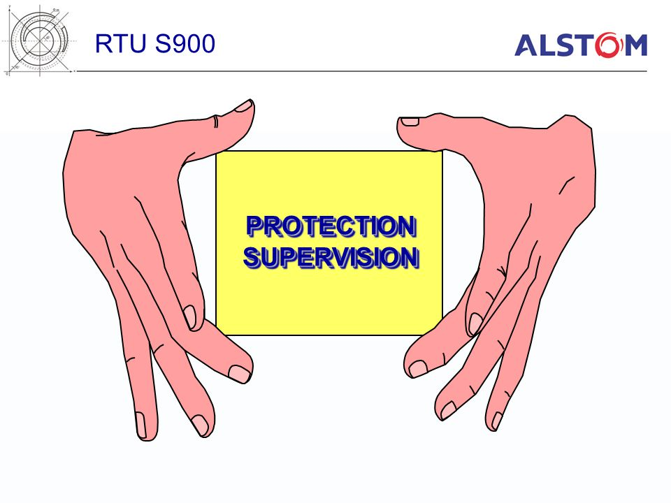 RTU S900 PROTECTION SUPERVISION
