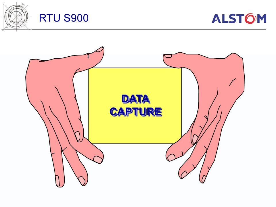 RTU S900 DATA CAPTURE