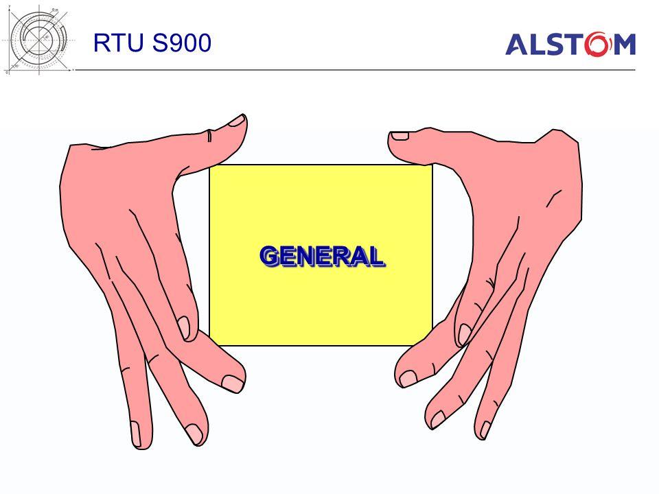 RTU S900 GENERAL