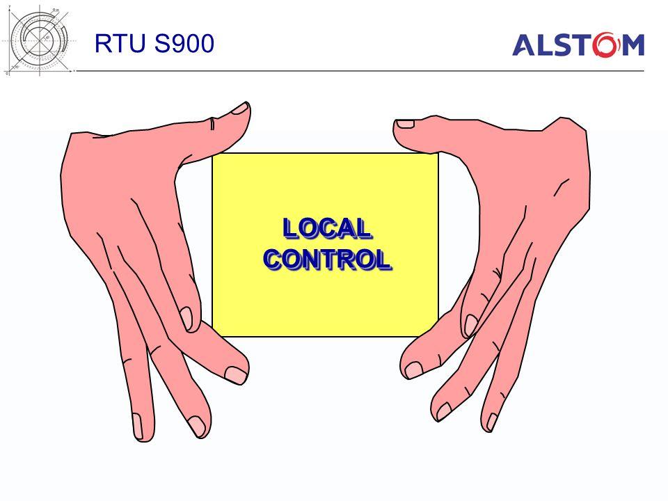 RTU S900 LOCAL CONTROL