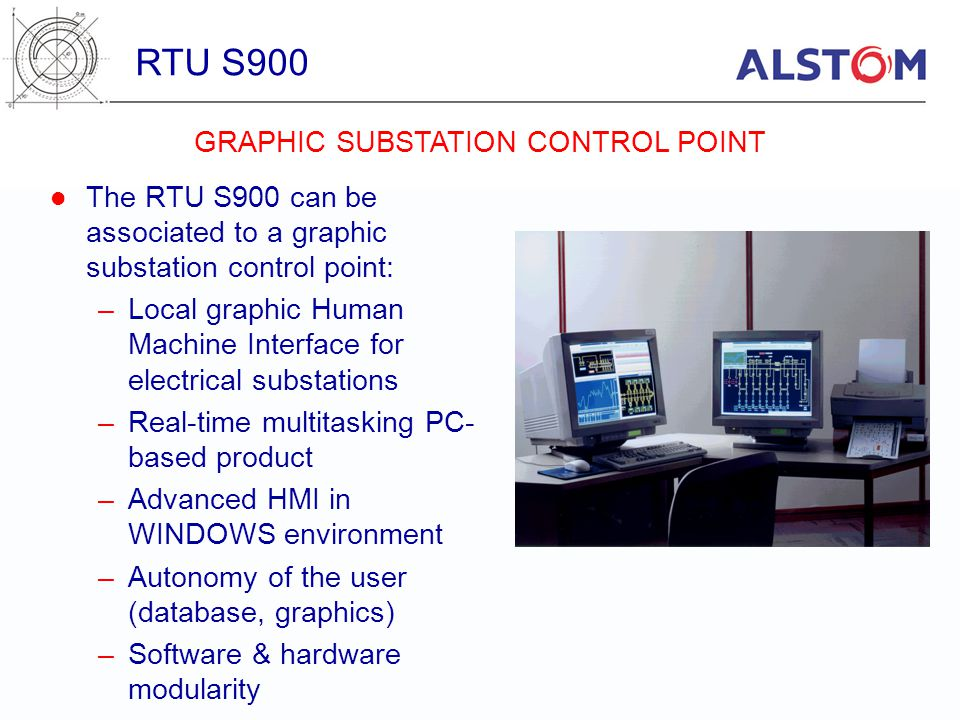 GRAPHIC SUBSTATION CONTROL POINT