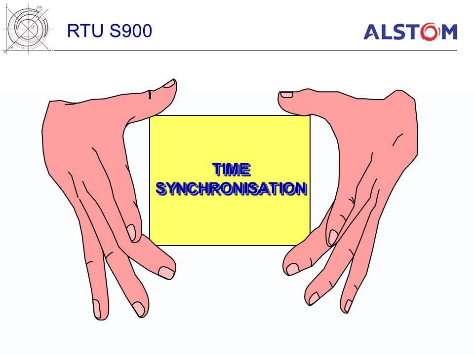 RTU S900 TIME SYNCHRONISATION