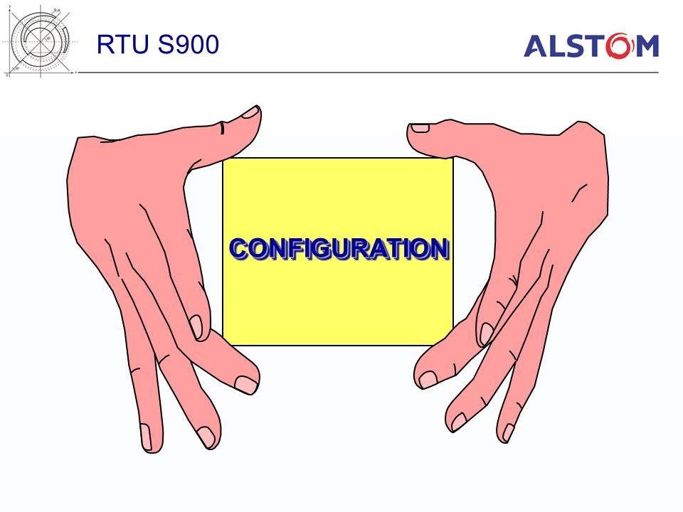 RTU S900 CONFIGURATION