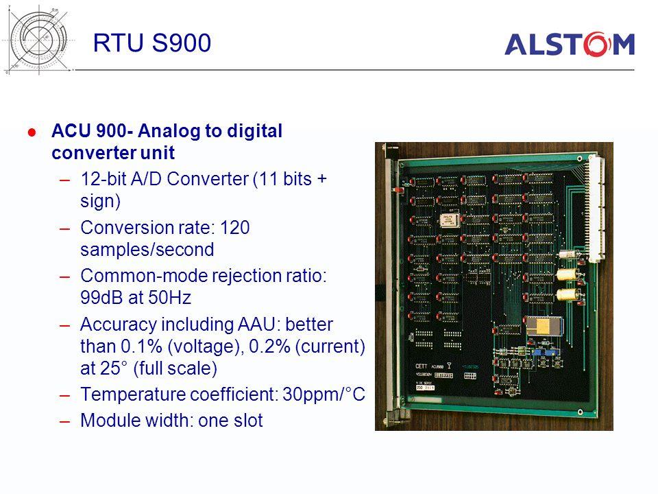 RTU S900 ACU 900- Analog to digital converter unit