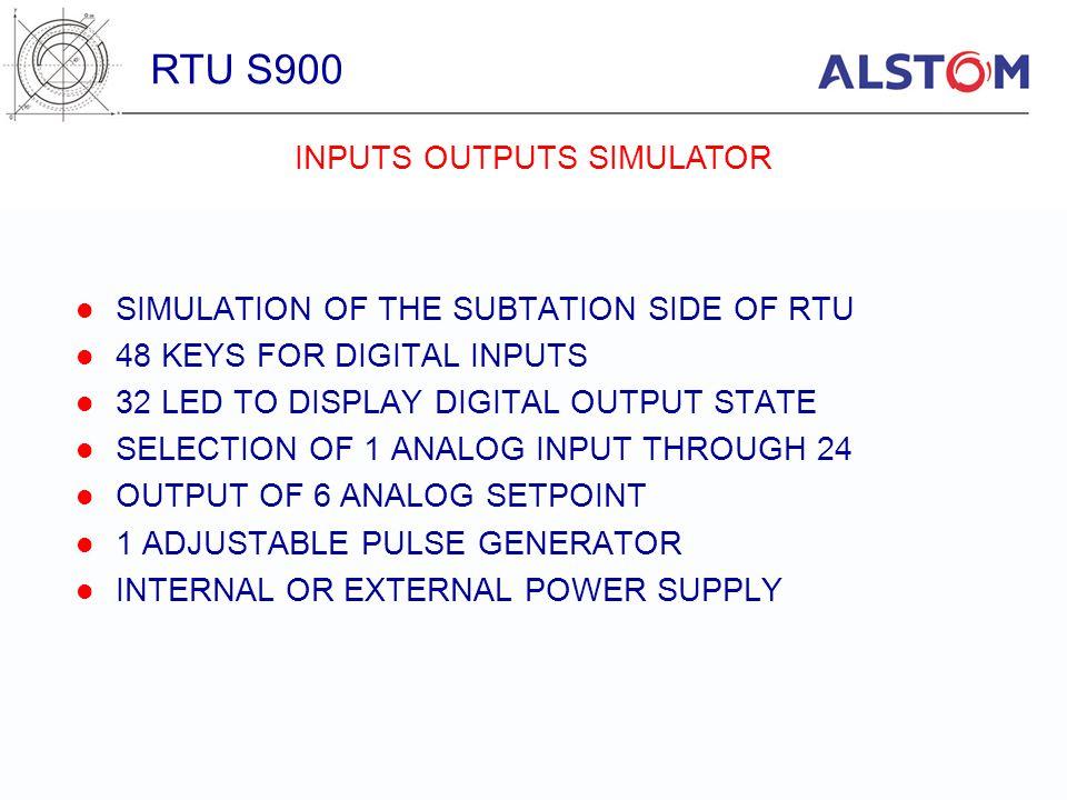 INPUTS OUTPUTS SIMULATOR