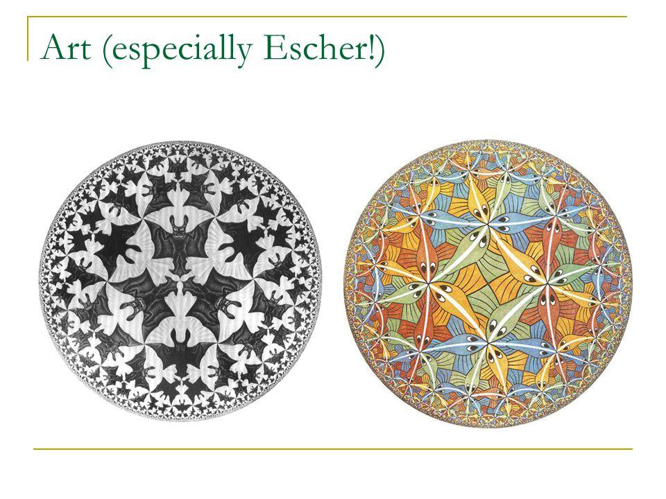 Art (especially Escher!)