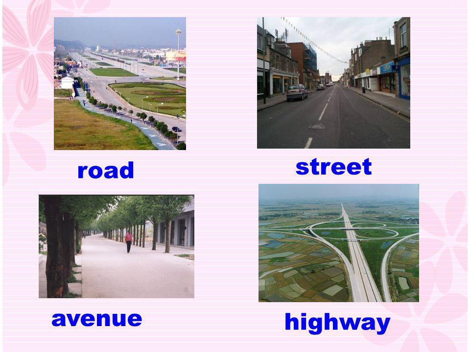 street road avenue highway