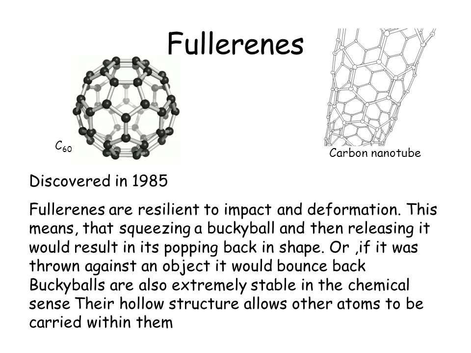 Fullerenes Discovered in 1985