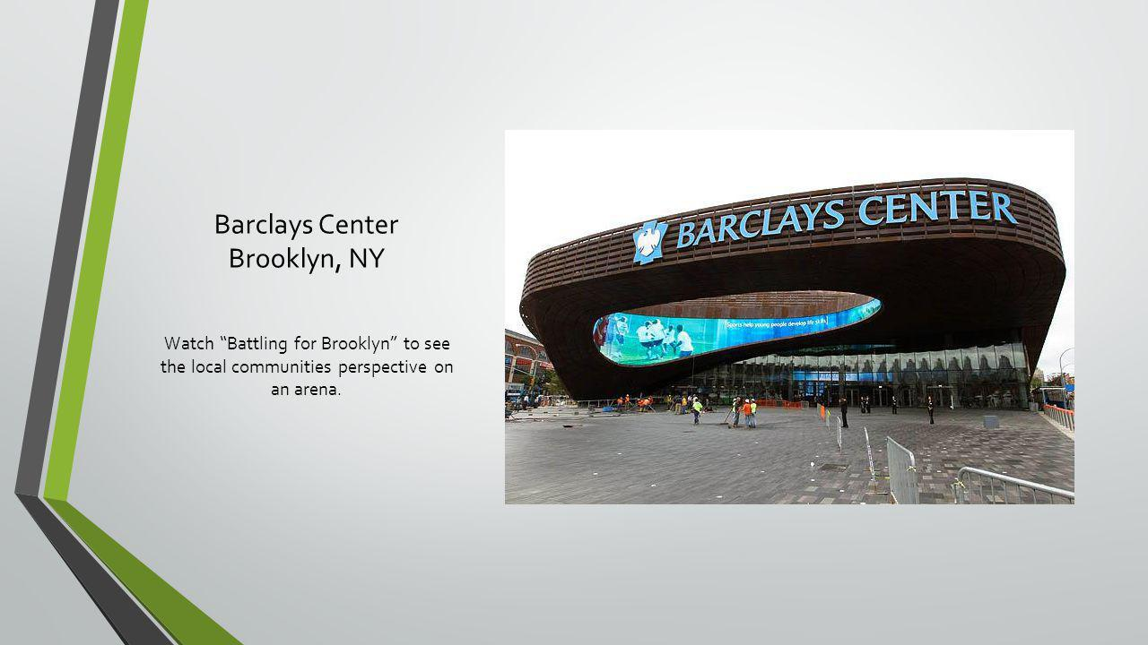 Barclays Center Brooklyn, NY