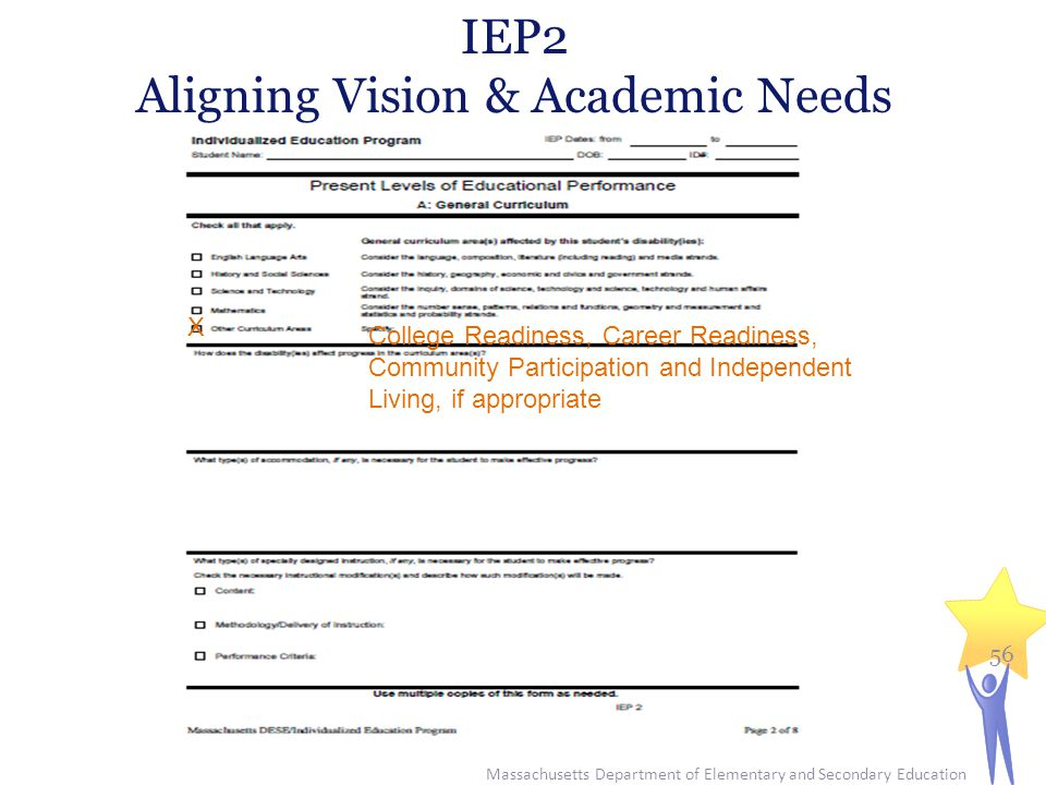 Aligning Vision & Academic Needs