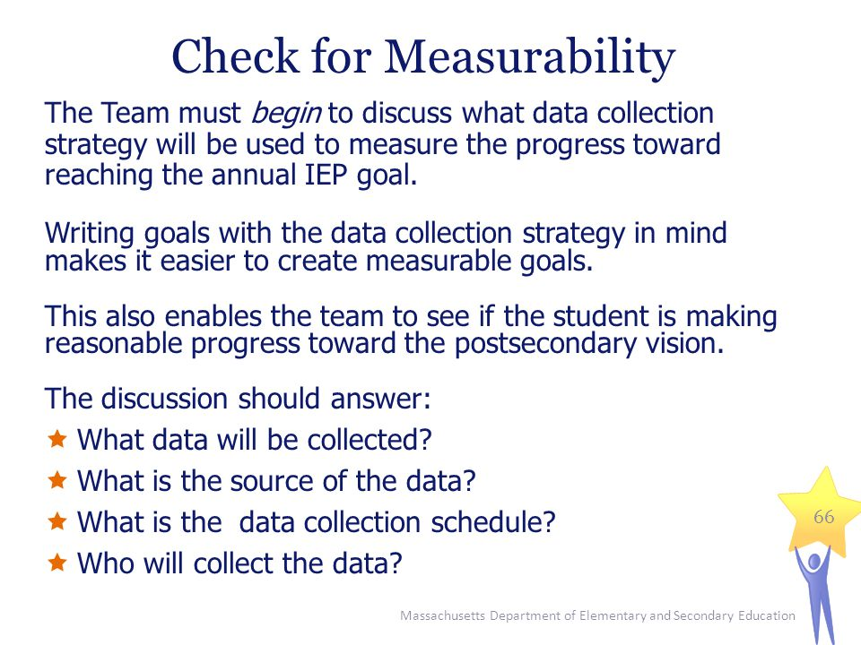 Check for Measurability