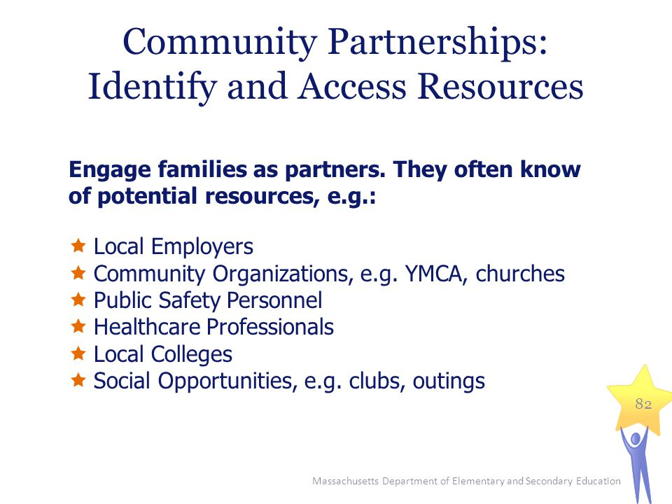 Community Partnerships: Identify and Access Resources