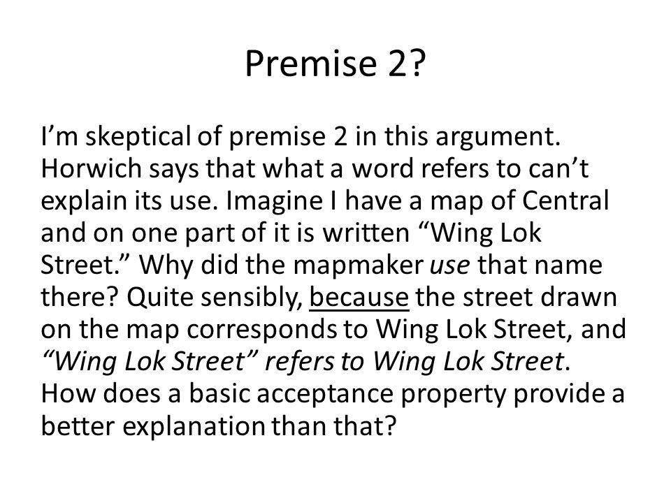 Premise 2