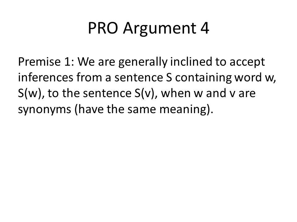 PRO Argument 4