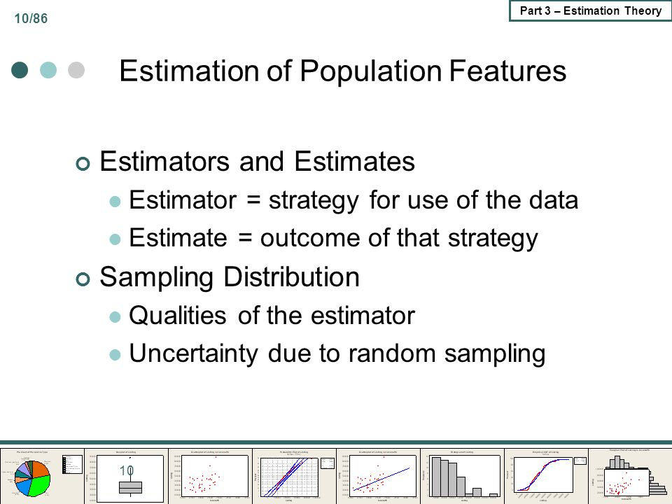 Estimation of Population Features