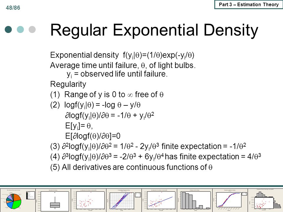 Regular Exponential Density