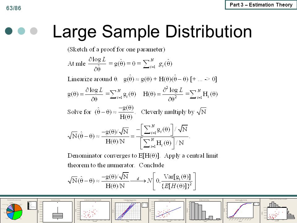 Large Sample Distribution