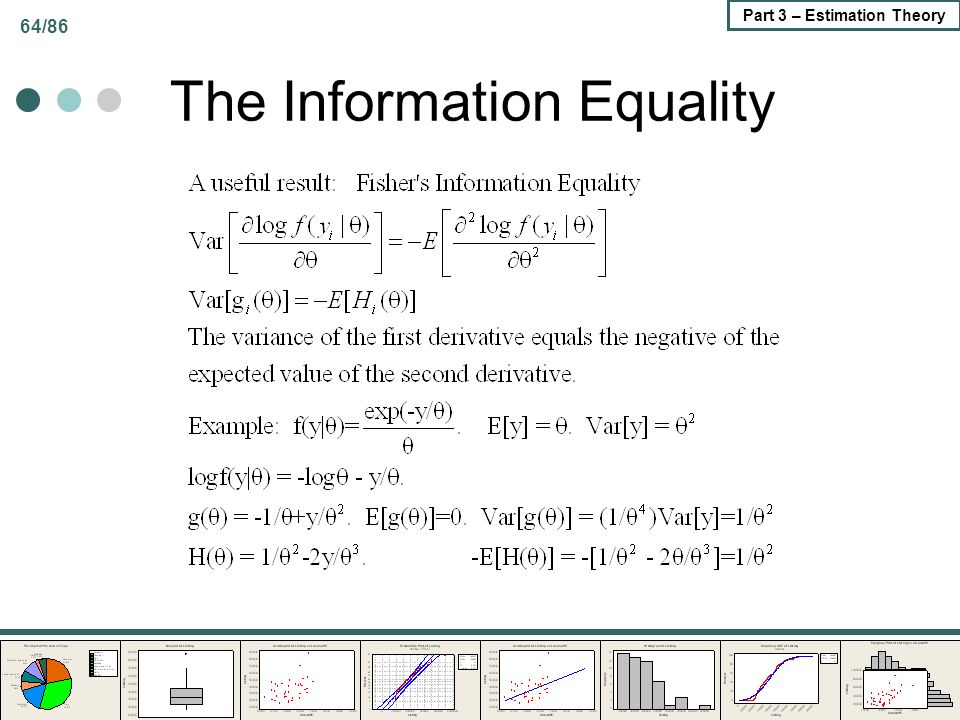 The Information Equality