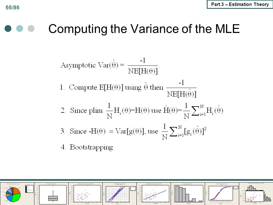 Computing the Variance of the MLE
