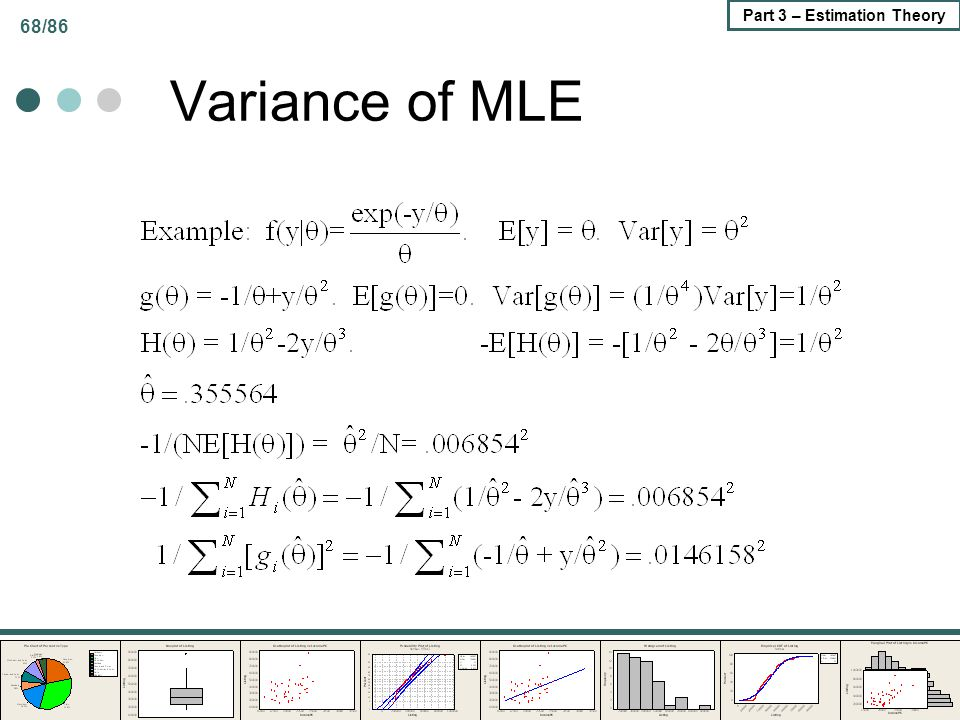 Variance of MLE