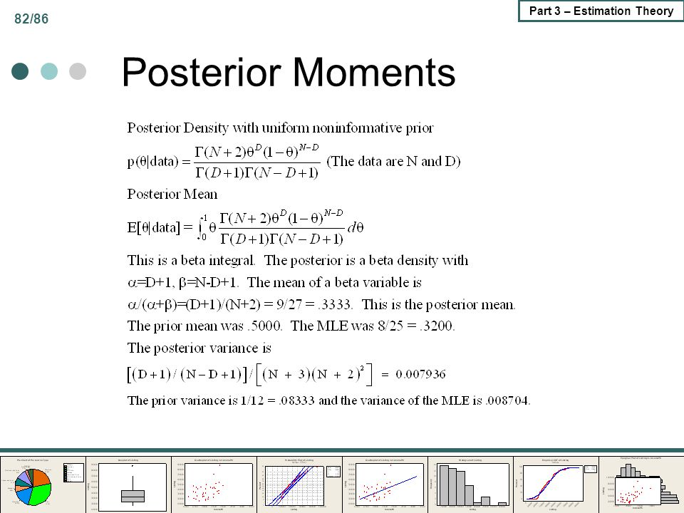 Posterior Moments