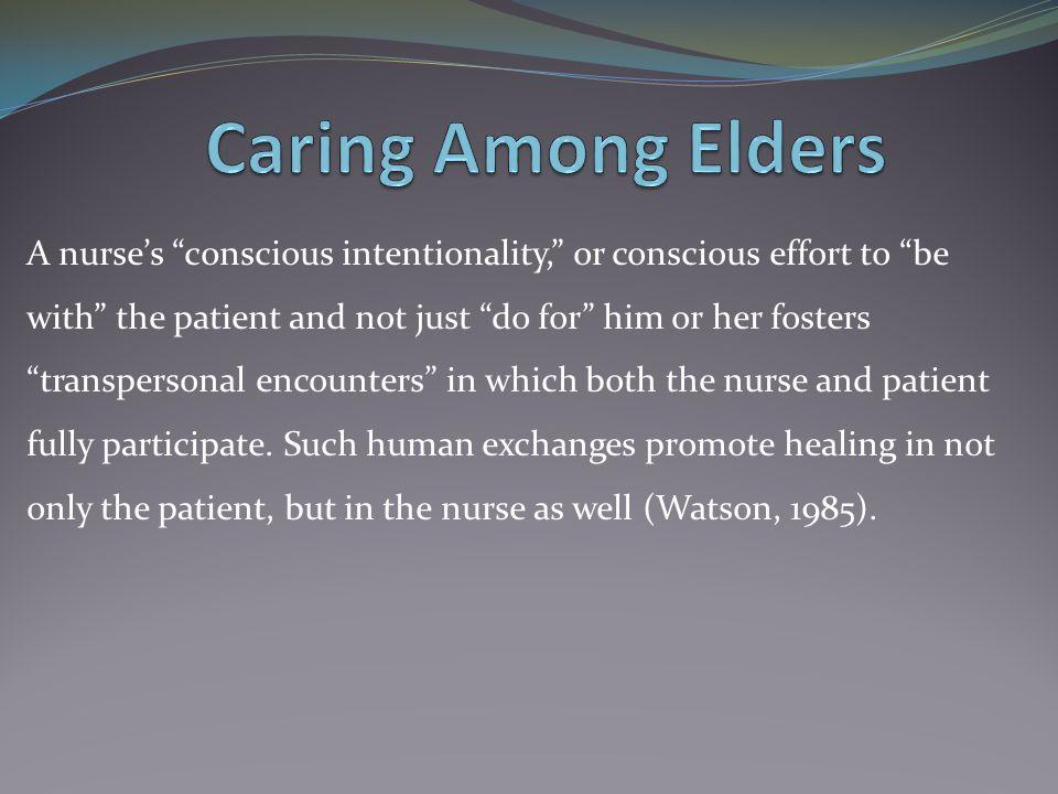 Caring Among Elders