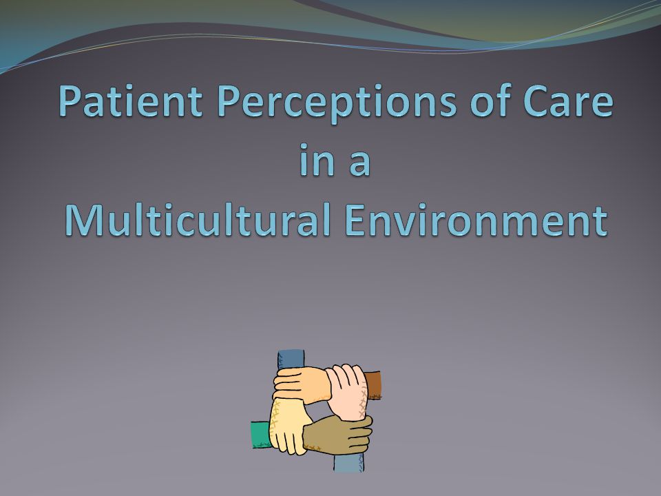 Patient Perceptions of Care in a Multicultural Environment