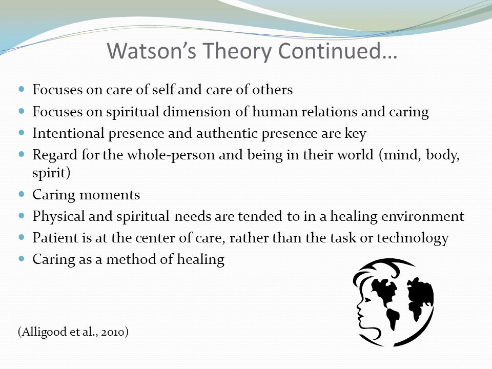 Watson's Theory Continued…