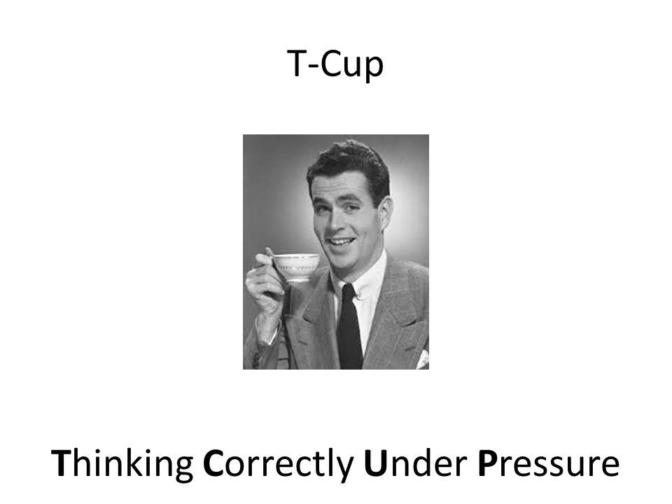 Thinking Correctly Under Pressure