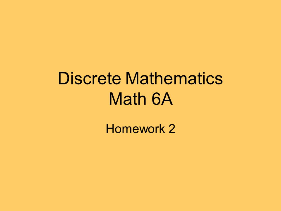 discrete mathmatics ip 2 The start-over policy applies to students who made a d, f, ip or w in their first semester aleks course we expect aleks work to be completed in two semesters or less we expect aleks work to be completed in two semesters or less.