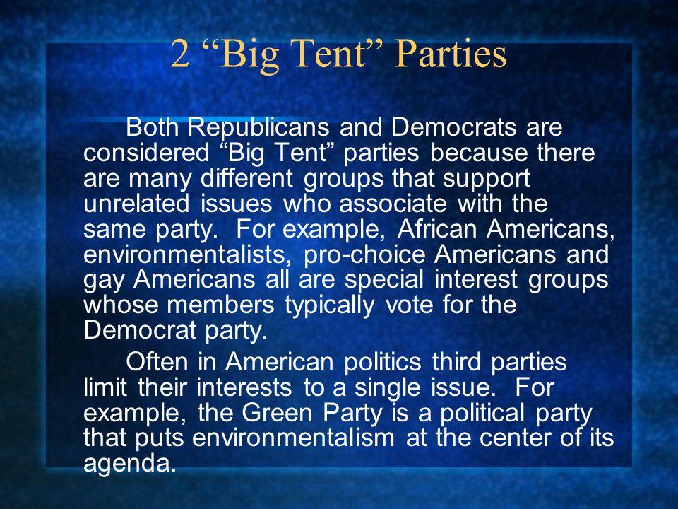 2 Big Tent Parties