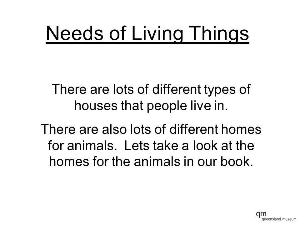 There are lots of different types of houses that people live in.