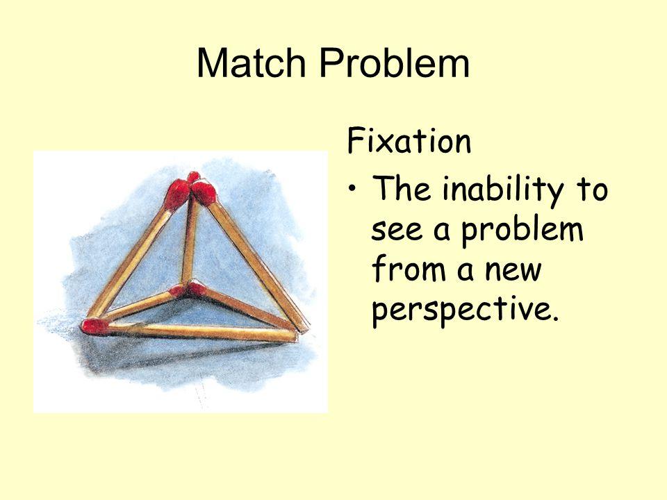 Match Problem Fixation
