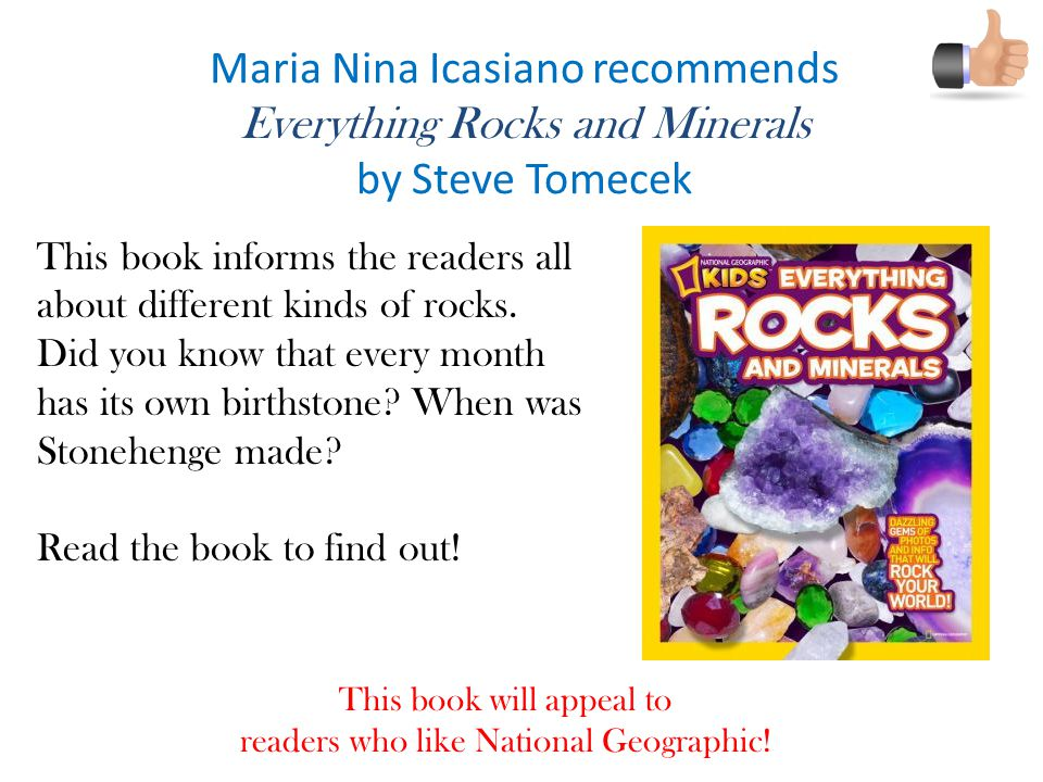 Maria Nina Icasiano recommends Everything Rocks and Minerals