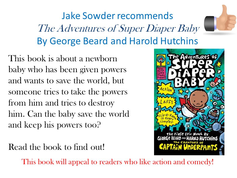 Jake Sowder recommends The Adventures of Super Diaper Baby