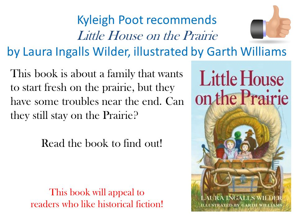 Kyleigh Poot recommends Little House on the Prairie