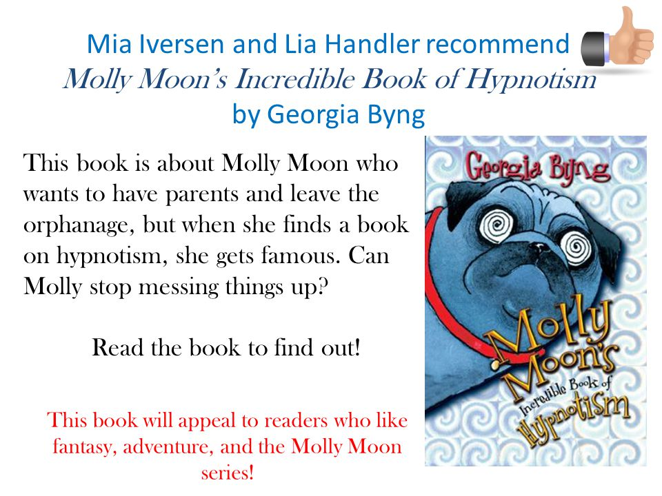 Mia Iversen and Lia Handler recommend