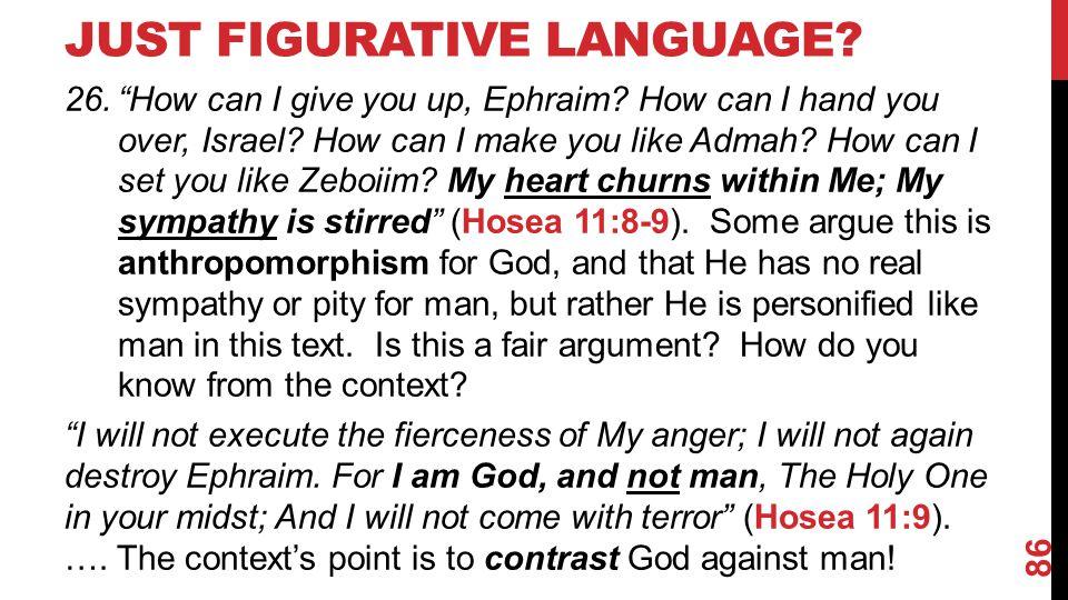 Just Figurative Language