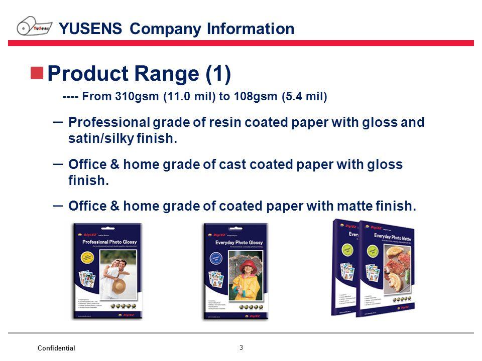 YUSENS Company Information
