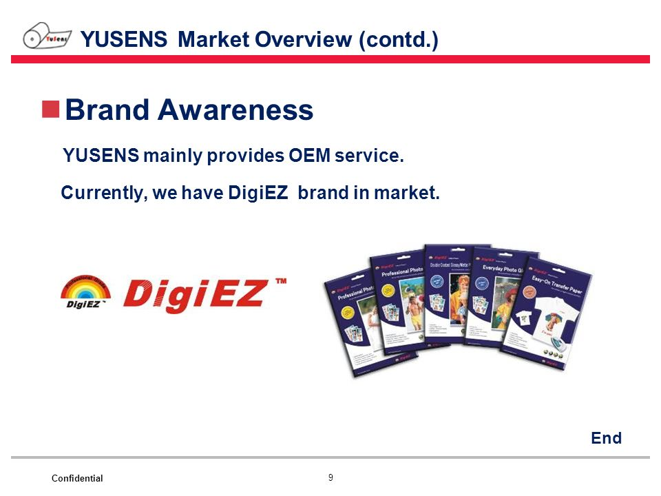 YUSENS Market Overview (contd.)