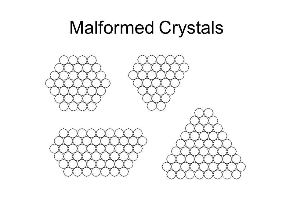 Malformed Crystals