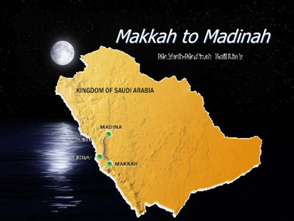 Makkah to Madinah
